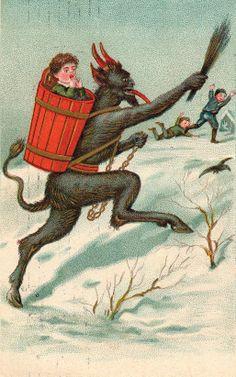 Santa's Satanic Sidekick, Krampus, Invades America. Really. via Co.Create