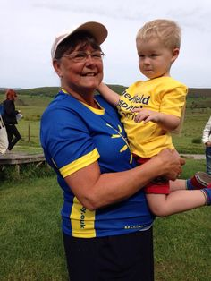 Andrea Blackett and her 3 year old grandson, Corey.