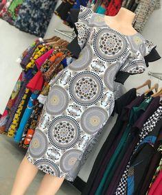 Modern African Print Dresses, Short African Dresses, Latest African Fashion Dresses, African Print Fashion, Africa Fashion, African Prints, Short Dresses, Chitenge Dresses, African Fashion Traditional