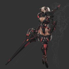 "ArtStation - ""Dark knight "" SC Lance 09, Ren Wei Pan"