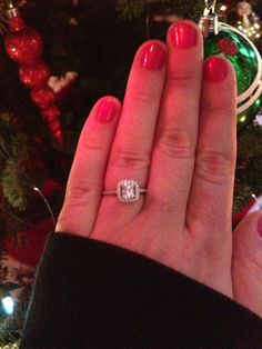 I'm obsessed with my ring! Such a good job Zach!