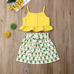 Department Name: ChildrenItem Type: SetsMaterial: Cotton, PolyesterGender: GirlsFit: Fits true to size, take your normal size Frocks For Girls, Kids Frocks, Little Girl Dresses, Girls Dresses, Sewing Kids Clothes, Cute Baby Clothes, Baby Girl Fashion, Kids Fashion, Baby Girl Dress Design