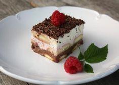 Nepečený trojfarebný smotanový zákusok - recept postup 7 Tiramisu, Ethnic Recipes, Food, Essen, Meals, Tiramisu Cake, Yemek, Eten