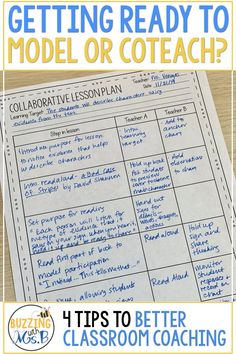 Coaching teachers - Modeling and coteaching are important parts of instructional coaching and the coaching cycle But they can be scary, too! This post includes four BIG ideas for being prepared for modeling and coteachi Teacher Blogs, Teacher Resources, Student Teacher, Elementary Teacher, Teaching Strategies, Teaching Tips, School Leadership, Educational Leadership, Educational Websites