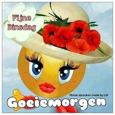Good Night, Good Morning, Tuesday Greetings, Emoji Symbols, Happy Day, Tweety, Pikachu, Fictional Characters, Smileys