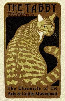 """""""The Tabby: The Chronicle of the Arts & Crafts Movement"""", Vol 1. No. 6 - September & October 2000-2002"""