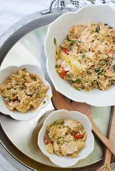 spicy zucchini cabbage stir fry