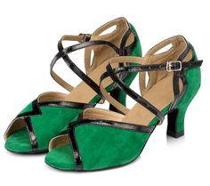 D1004 Ladies Ballroom latin dance shoes discount price dance shoes ship worldwide