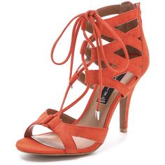 front lace strappy sandal heels - Google Search
