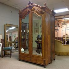 19th Century French Antique Walnut Armoire