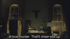 """""""A nice murder. That'll cheer you up""""-Mrs. Hudson The Best Quotes From BBC's """"Sherlock"""" Sherlock Holmes, Sherlock Season, Sherlock Series, Sherlock Fandom, Sherlock Quotes, Sherlock John, Watson Sherlock, Jim Moriarty, Vatican Cameos"""