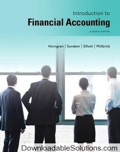Solution manual for financial accounting 9th edition by harrison download solution manual for introduction to financial accounting 11th edition by horngren l sundem fandeluxe Choice Image