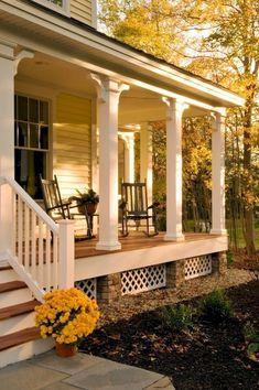 Nice 80 Modern Farmhouse Front Porch Decorating Ideas https://homespecially.com/80-modern-farmhouse-front-porch-decorating-ideas/