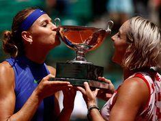 Lucie Safarova, Bethanie Mattek-Sands - Roland Garros (©Getty Images)