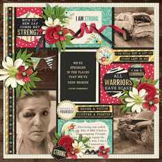 double page scrapbook layouts | Sweet Shoppe Designs – The Sweetest Digital Scrapbooking Site on the ...