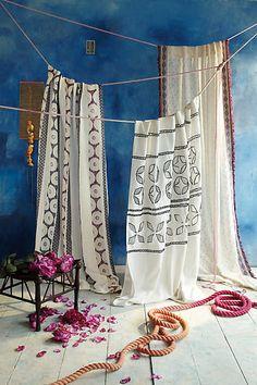 Dandelions Curtain - anthropologie.com