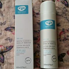 Green People Gentle Cleanse & Make-Up Remover. Cleanser And Toner, Make Up Remover, Cleansers, How To Remove, How To Make, Lotion, Organic, Personal Care, Skin Care