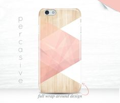 iPhone 7 Case Pink Geometric iPhone 6s Cover Modern Abstract