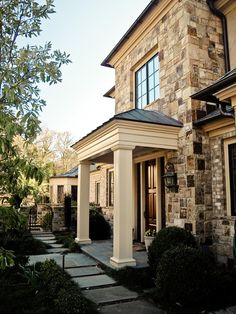 Beautiful porch and columns