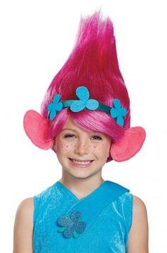 Trolls costume trolls party pinterest troll costume costumes poppy child wig solutioingenieria Choice Image