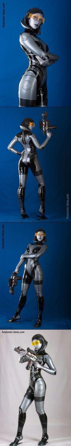 Mass Effect - EDI  Cosplayer: Anastasia Volodina * Photographer: anatomic-latex.com