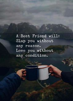 Crazy Friends Quotes The Random Vibez gets you the best collection of BFF Quotes and Sayings, Images, Wallpapers, Pictures and more to cherish your bond with your BFF Besties Quotes, Cute Quotes, Funny Quotes, Bffs, Bestfriends, Bestfriend Goals Quotes, Quotes Sahabat, Qoutes, Friendship
