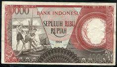 10000 Rupiah from Indonesia 1964 | eBay