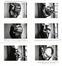 "Joann Harrah: Studio Sessions: Duane Michals: ""Dr. Heisenberg's Magic Mirror of Uncertainty"" 1998"