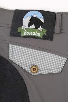 """Reithose """"Fanni"""" grau - Rossalm by ea.St riding wear - Reithosen - Reiter"""