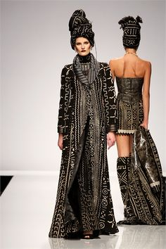 Kofi Ansah - Haute Couture Spring Summer 2009 - Shows - Vogue.it