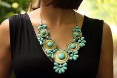 love this necklace (via What I Wore)
