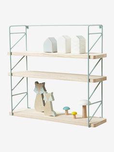 Set of 2 Book Shelves - white/wood, Bedroom Furniture & Storage Baby Bedroom, Kids Bedroom, Wall Shelves, Shelving, Cute Furniture, Bedroom Furniture, Cot Blankets, Travel Cot, Toy Kitchen