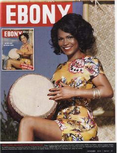 To celebrate its anniversary issue and icons of the past, EBONY magazine chose current celebs to play them: Nia Long as Dorothy Dandridge. Jet Magazine, Black Magazine, Black Girls Rock, Black Girl Magic, Ebony Magazine Cover, Magazine Covers, Divas, Dorothy Dandridge, 65th Anniversary
