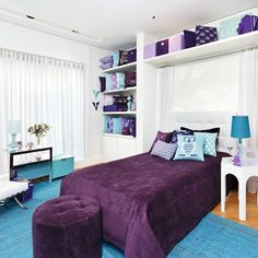 Bedroom Home Decor Dream Rooms, Dream Bedroom, Home Bedroom, Girls Bedroom, Bedrooms, Diy Bedroom Decor For Teens, Bedroom Colors, House Rooms, Girl Room