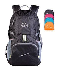 Venture Pal Lightweight Packable Durable Travel Backpack Daypack + Lifetime Warranty
