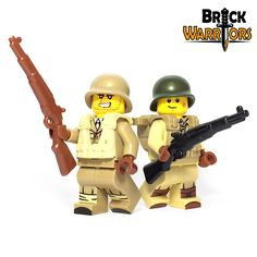 Custom LEGO Gun Highlight - US Rifle #LEGO #BrickWarriors #Minifigure #WWII #USA #LEGOaccessories #MinifigureAccessories