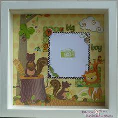 Happy animals box frame