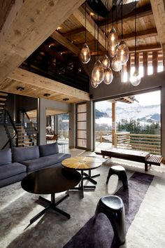Mountain Cabin Living