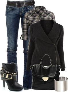 This works for a chilly fall or winter day out