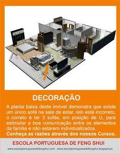 Escola Portuguesa de Feng Shui: UM ÚNICO SOFÁ - DECOR