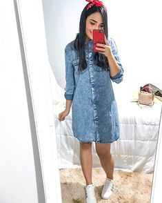 Simple Summer to Spring Outfits to Try in 2019 – Prettyinso Modest Wear, Modest Outfits, Skirt Outfits, Casual Outfits, Cute Outfits, Future Clothes, Dress With Sneakers, Hippie Outfits, Looks Style