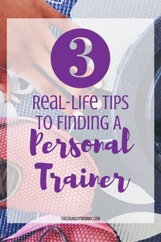 Using a personal trainer is one of the many tools to use to attain your fitness and weight loss goals but not all trainers are made equal! Read on...http://www.thecrunchymommy.com/3-real-life-tips-to-finding-a-personal-trainer/