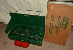Vintage Coleman 3 Burner Camp Stove Model very clean with Box Coleman Stove, Coleman Lantern, Coleman Camping, Found You, Camping Stove, Ebay Search, Vintage Stuff, Lanterns, Cleaning