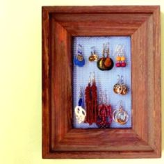 Jewelry frame.  Gonna do this today.