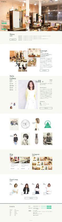 Nujebaさんの提案 - 【1ページのみ・コーディングなし】ヘアサロンのTOPデザイン募集 | クラウドソーシング「ランサーズ」 Ui Ux Design, Layout Design, Asian Design, Best Web Design, Website Layout, Web Design Inspiration, Banner Design, Salons, Landing