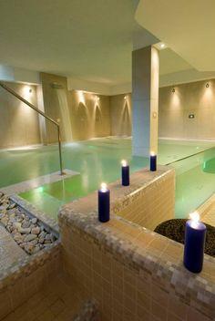 Vasca idromassaggio in #spa