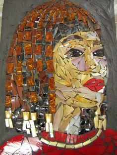 Mosaic by Kat Gottke called GODDESS