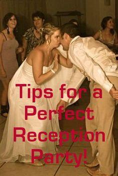 12 Wedding Reception Party Tips
