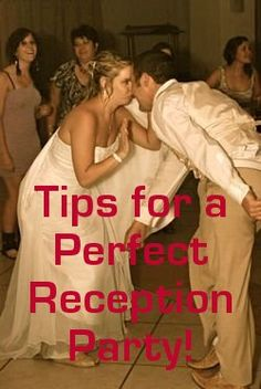 12 Wedding Reception Party Tips. Practical ideas.