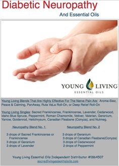 Young Living Essential Oils: Diabetic Neuropathy Pain